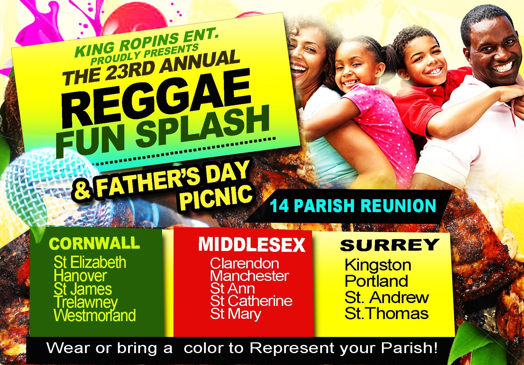 FAMILY FUN SPLASH & FATHER'S DAY PICNIC | Birdie Promotions