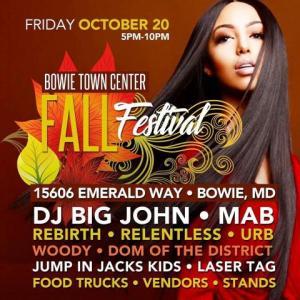 Fall Festival Oct 20th