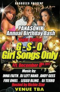Panasonik Bday Bash GSO