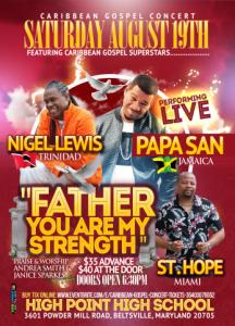 Caribbean Gospel Concert